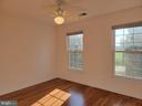Junior Bedroom #1 - Double Windows, Ceiling Fan - 25452 CROSSFIELD, CHANTILLY