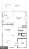 Approximate Main Level Floor-plan - 25452 CROSSFIELD, CHANTILLY