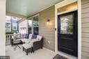 Inviting front porch! - 2440 POTOMAC RIVER BLVD, DUMFRIES