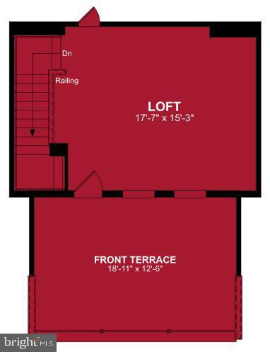Fourth Level Floor Plan - 1470 MEADOWLARK GLEN RD, DUMFRIES