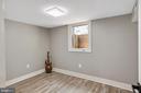 Bedroom in the lower level - 2217 FRANKLIN ST NE, WASHINGTON