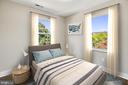 Upper level third bedroom - 2217 FRANKLIN ST NE, WASHINGTON