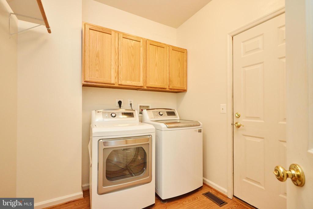 Main level laundry with garage access - 619 BRECKENRIDGE WAY, SHENANDOAH JUNCTION