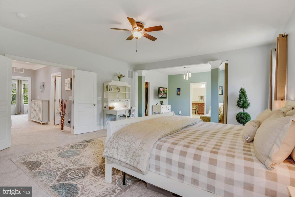 Luxurious Primary Bedroom - 41192 BLACK BRANCH PKWY, LEESBURG