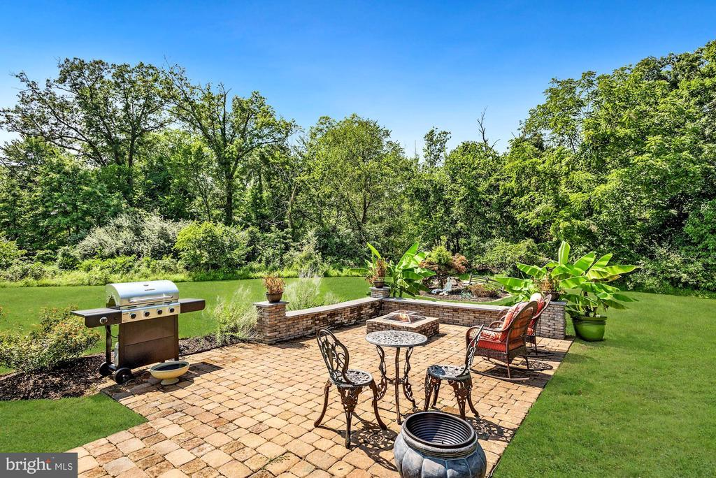 Patio and Built-in Fire Pit - 41192 BLACK BRANCH PKWY, LEESBURG