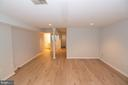 Lower Level Family Room - 11415 HOLLOW TIMBER WAY, RESTON