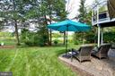 Gaze out at the golf course from your patio perch - 25659 TREMAINE TER, CHANTILLY
