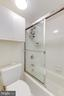 Primary Bath with Tub Shower - 8340 GREENSBORO #903, MCLEAN
