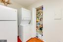Stackable Washer/Dryer & Pantry - 8340 GREENSBORO #903, MCLEAN