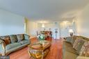 Living Room / Dining Room - 8340 GREENSBORO #903, MCLEAN