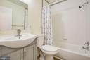 All updated hall bath - 1217 EASTOVER PKWY, LOCUST GROVE