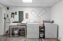 Lower Level Laundry Room - 990 WILLOWDALE DR, SHEPHERDSTOWN