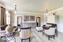 Elegant Living Room - 19598 SARATOGA SPRINGS PL, ASHBURN
