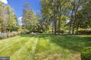Large rear yard - 19598 SARATOGA SPRINGS PL, ASHBURN