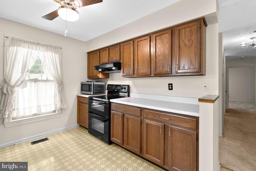 Kitchen w/view to hallway - 3000 BEETHOVEN WAY, SILVER SPRING