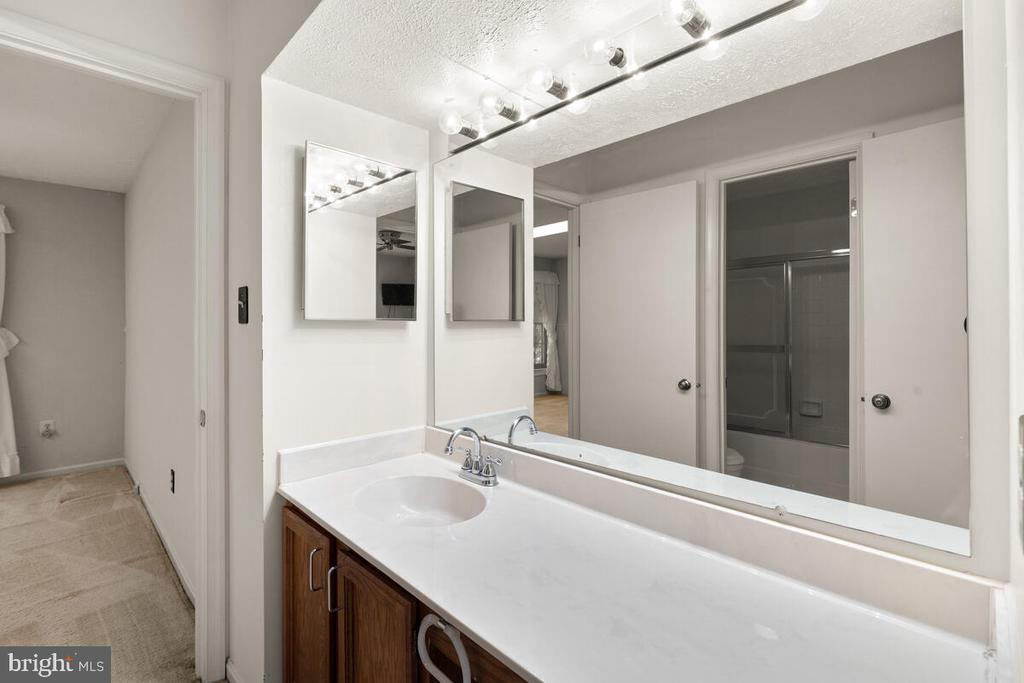 Jack and Jill Bath for Bedrooms 2 and 3 - 3000 BEETHOVEN WAY, SILVER SPRING