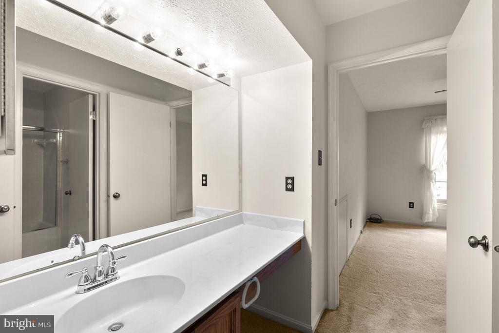 Alternate View of Shared Bath - 3000 BEETHOVEN WAY, SILVER SPRING