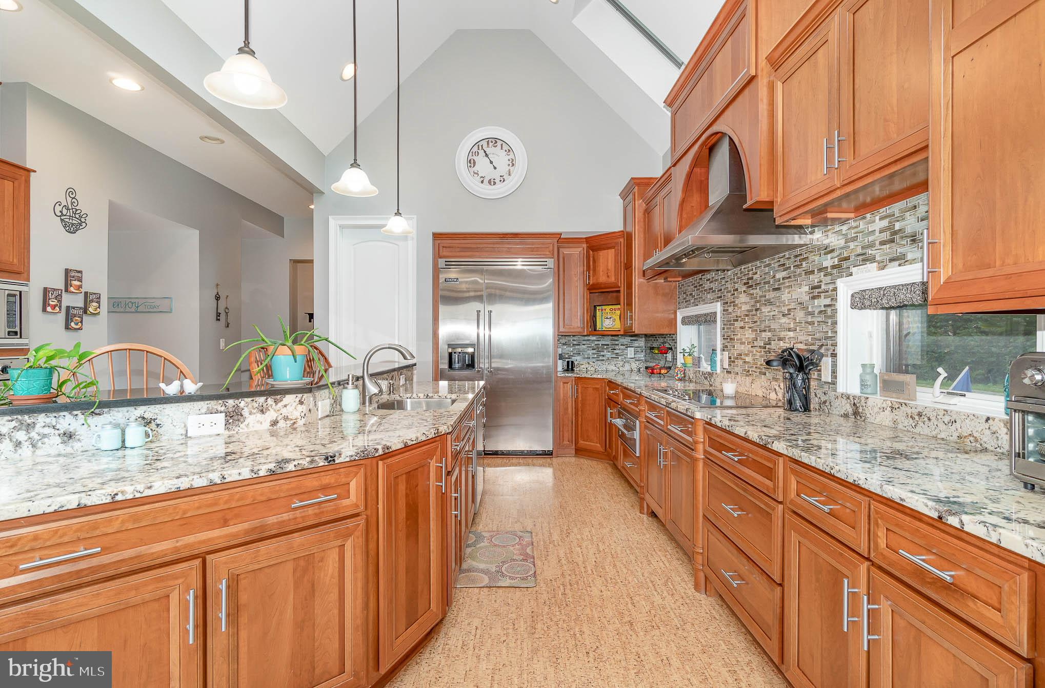 Abundance of counter space & cabinets