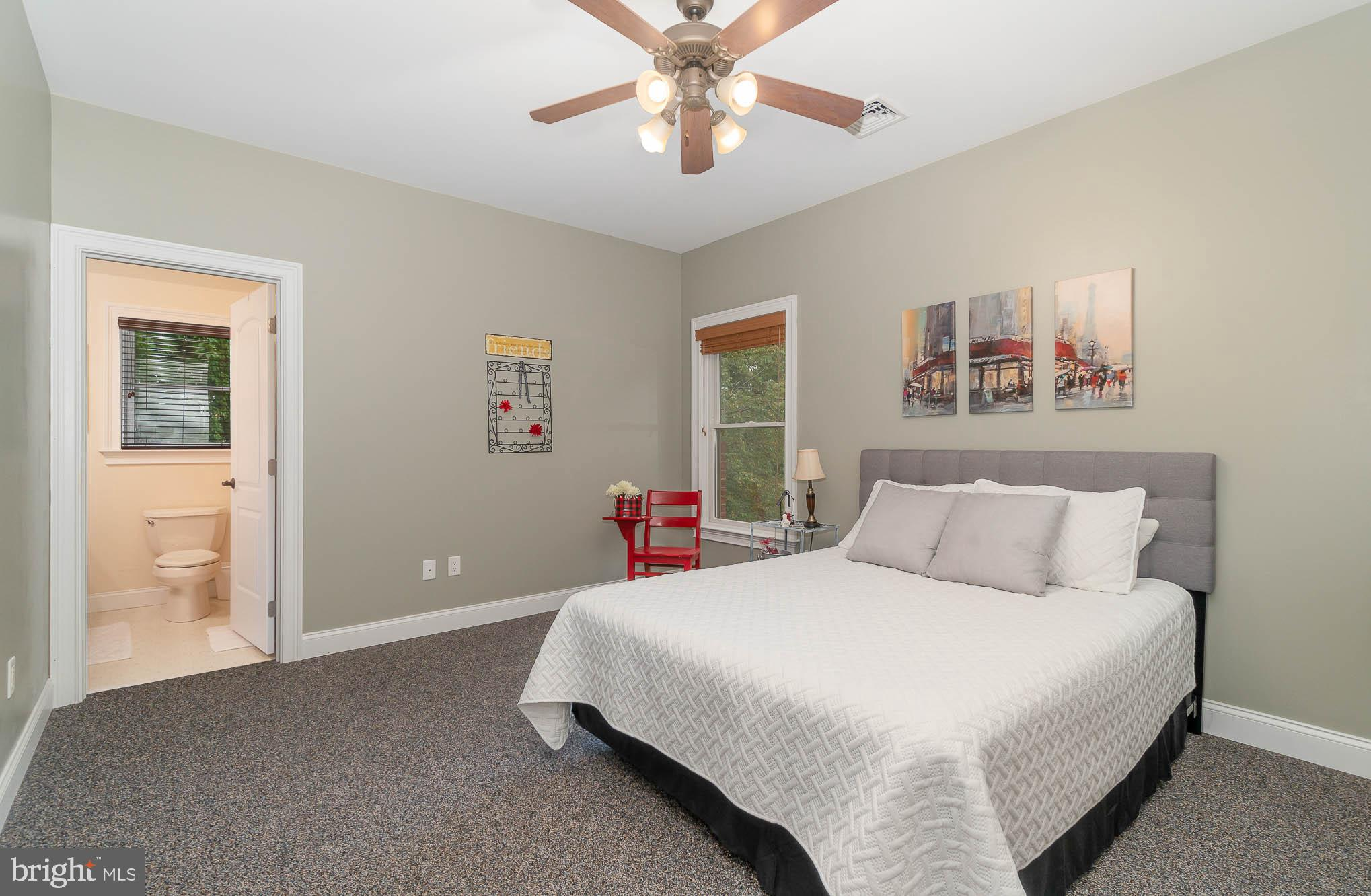 2nd floor - 3rd BR suite w/ full BA  & large WIC
