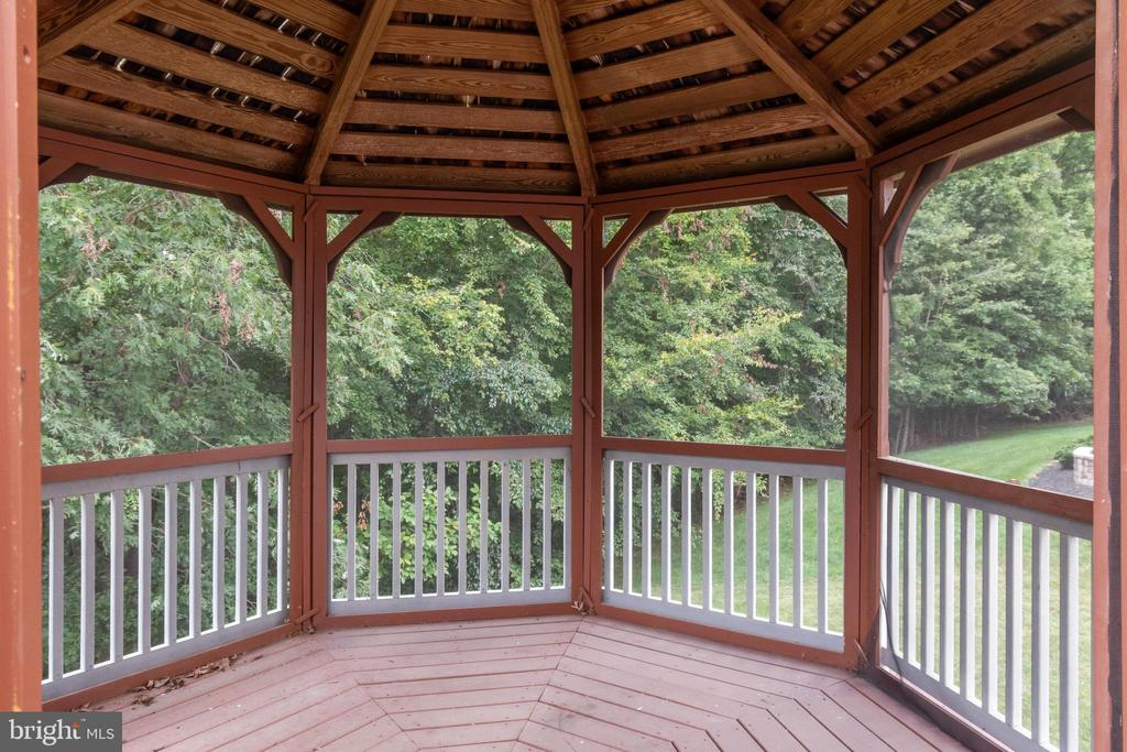 Spacious Octagon Gazebo ! So much room for Guests - 7617 STRATFIELD LN, LAUREL