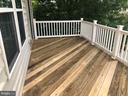 Large deck to enjoy! - 2285 MERSEYSIDE DR, WOODBRIDGE