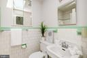 Full hall bath on this level as well - 6112 WOODMONT RD, ALEXANDRIA