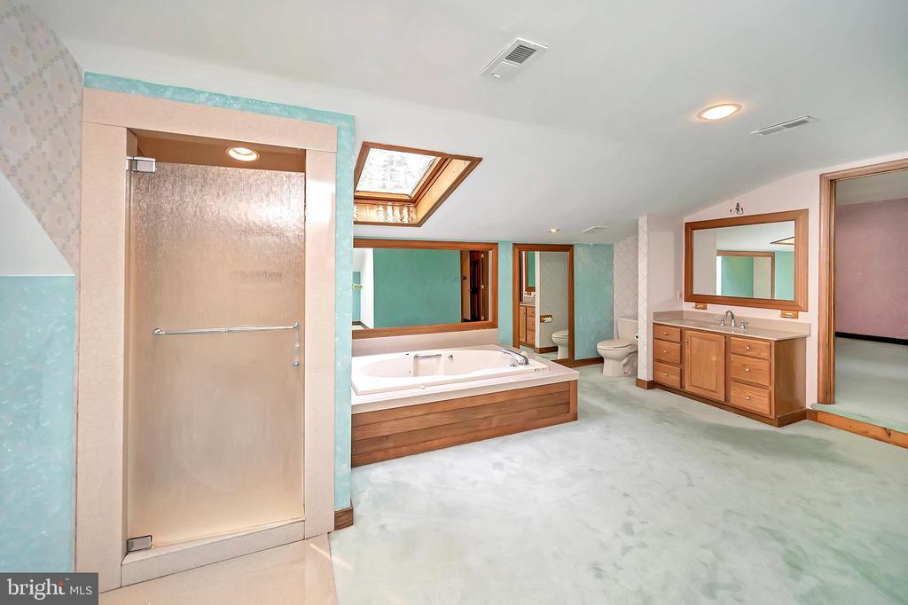 Primary Bath Shower Stall - 9704 PAMELA CT, SPOTSYLVANIA