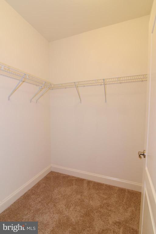 Master Bedroom walk in closet (2) - 9200 CHARLESTON DR #201, MANASSAS