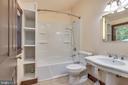 2nd floor full bath - 331 HIGH ST, SHEPHERDSTOWN