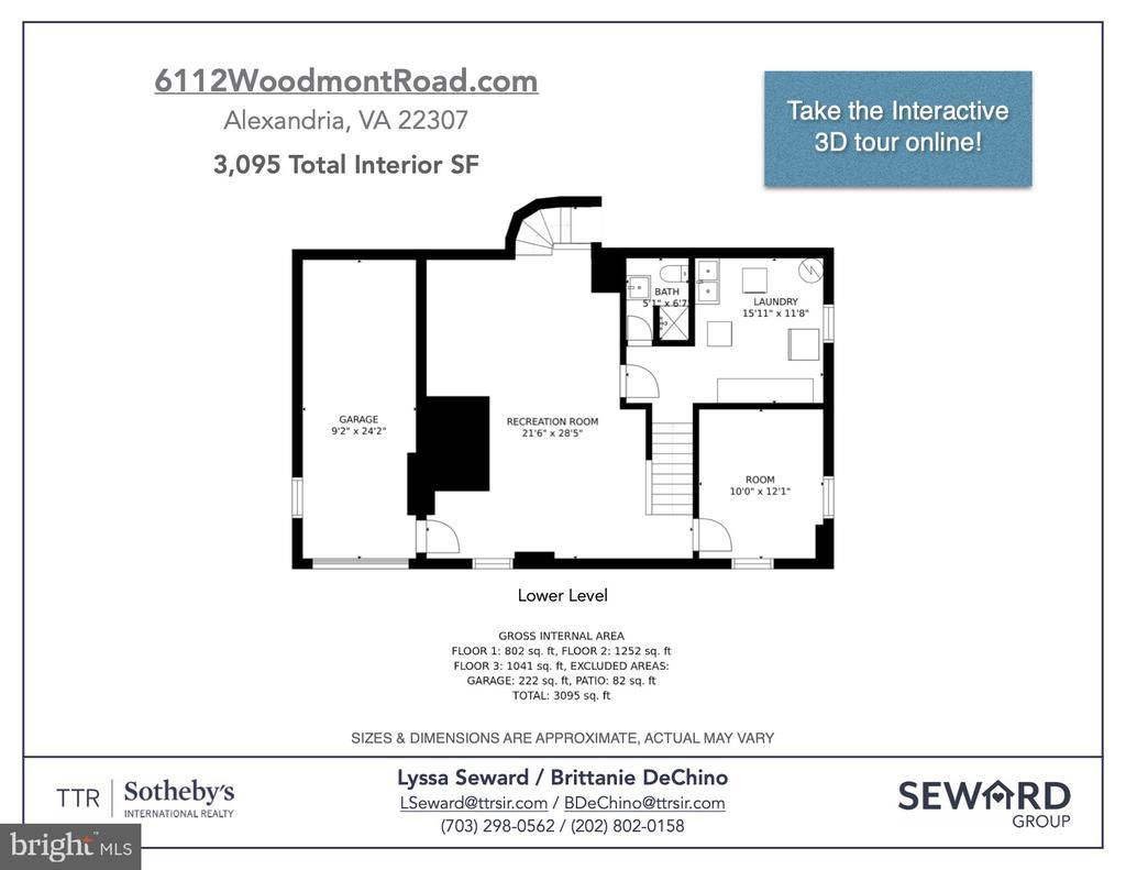 Floor plan - 6112 WOODMONT RD, ALEXANDRIA