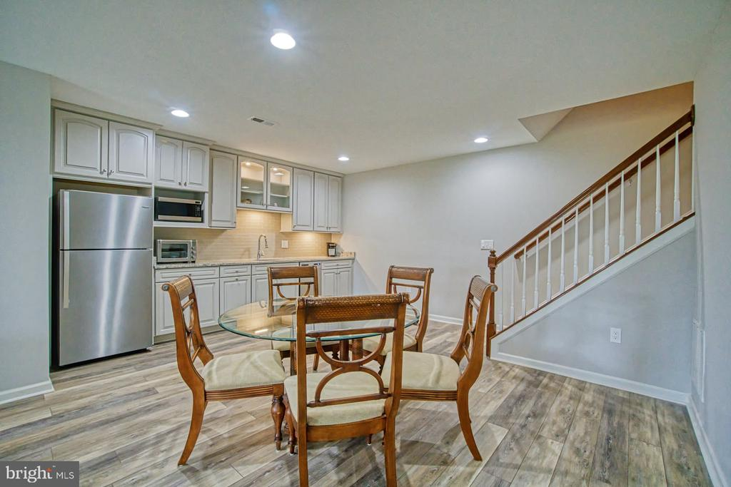 Basement - new LVP floors! - 16604 FOX CHASE CT, LEESBURG