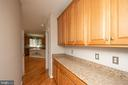 Butler's pantry - 18621 KERILL RD, TRIANGLE