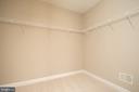 Master Closet 1 - 18621 KERILL RD, TRIANGLE