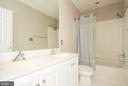 Hallway bath - 18621 KERILL RD, TRIANGLE