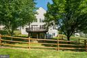 Fenced backyard - 18621 KERILL RD, TRIANGLE