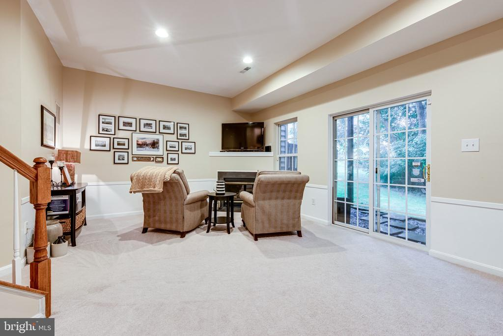 Back down to the basement, look at your rec room! - 3162 GROVEHURST PL, ALEXANDRIA