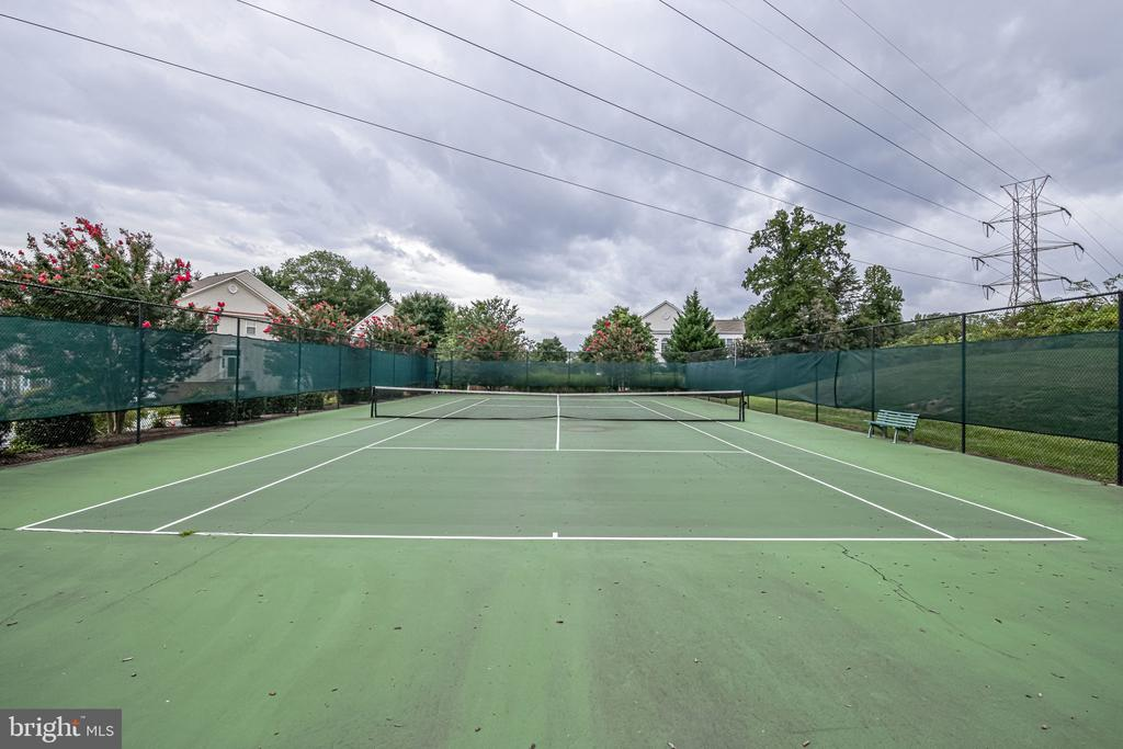 And fantastic sport court out the door to the rig! - 3162 GROVEHURST PL, ALEXANDRIA