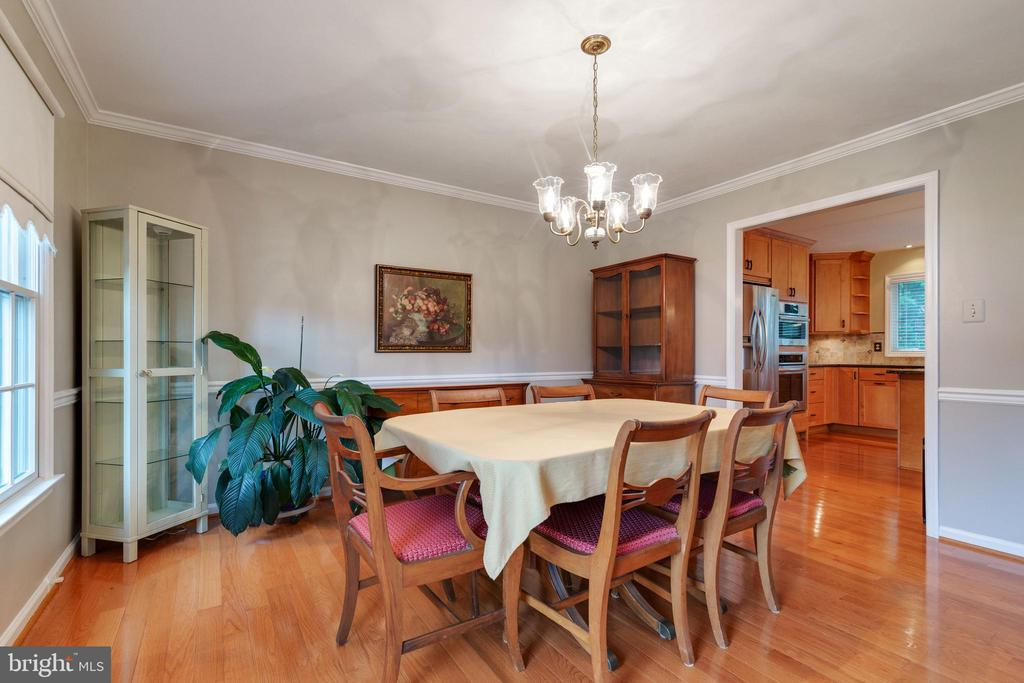 Dining Room - 15697 THISTLE CT, DUMFRIES