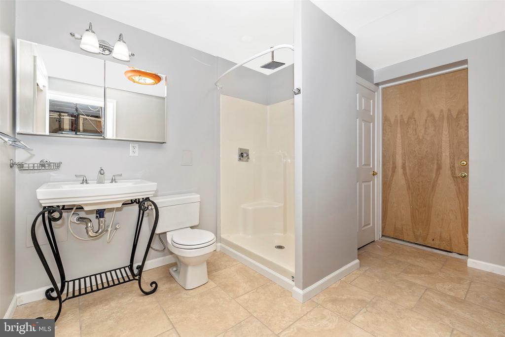Lower Level Bath - 9005 SHADYBROOK DR, FREDERICK