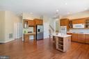 Huge Kitchen & Dual Stair Case - 22554 FOREST RUN DR, ASHBURN