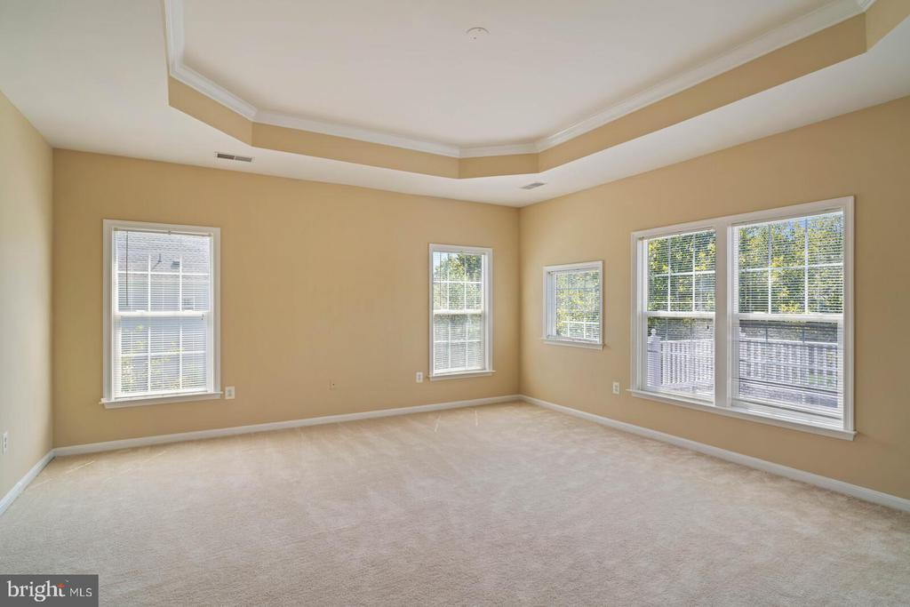 Generous Primary Bedroom - 22554 FOREST RUN DR, ASHBURN