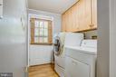 Main level laundry - 12400 TOLL HOUSE RD, SPOTSYLVANIA