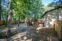 Extremely level yard - 12400 TOLL HOUSE RD, SPOTSYLVANIA