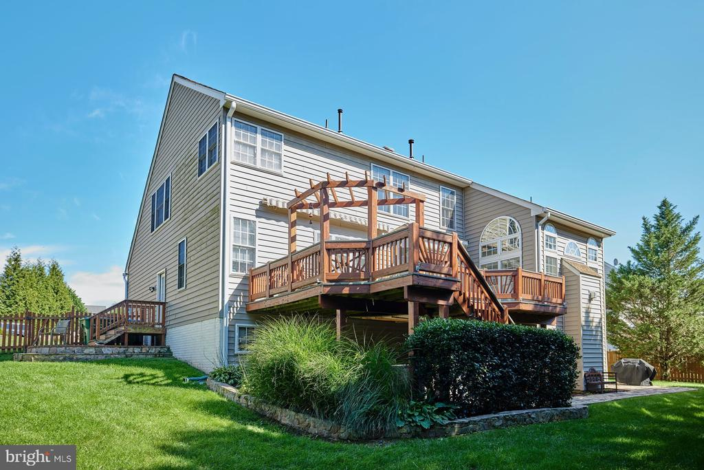 Rear House View - 9032 PADDINGTON CT, BRISTOW