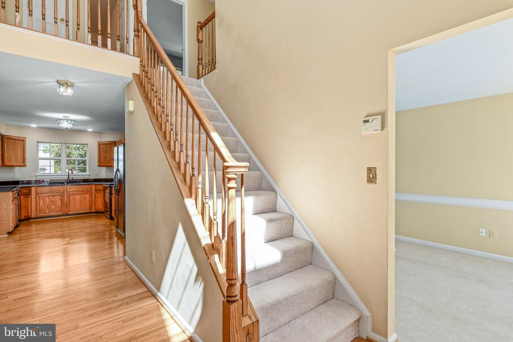 Hall to Kitchen, Family Room - 46490 CEDARHURST DR, STERLING