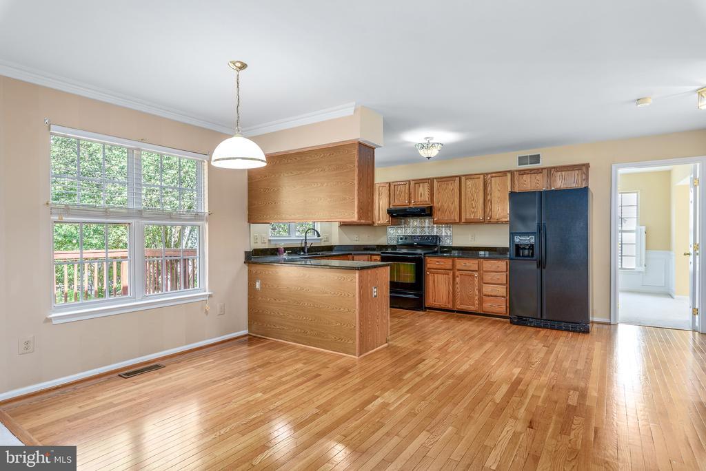 Family Room, Breakfast Area, Kitchen - 46490 CEDARHURST DR, STERLING