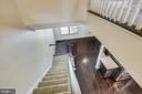 View from Upstairs- overlooks Kitchen/Living Room - 44021 EASTGATE VIEW DR, CHANTILLY
