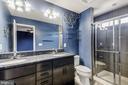 Master Bathroom - Dual Granite Vanity - 44021 EASTGATE VIEW DR, CHANTILLY