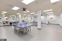 Even a room for table tennis - 19375 CYPRESS RIDGE TER #711, LEESBURG