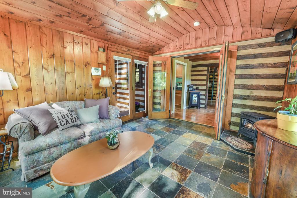 Sun Room with Slate Flooring - 34970 CHARLES TOWN, PURCELLVILLE